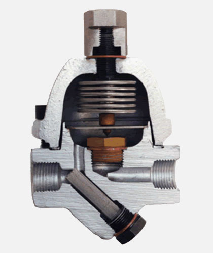 Bi-Metallic Bi-Thermostatic Steam Trap