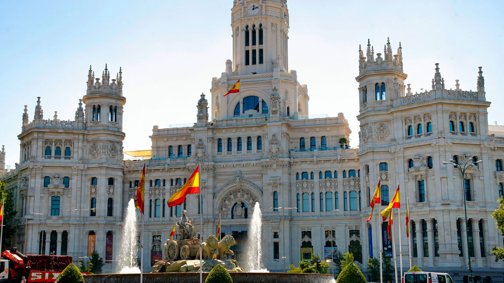 Madrid City Hall, Spain - Water Mist Fire Suppression