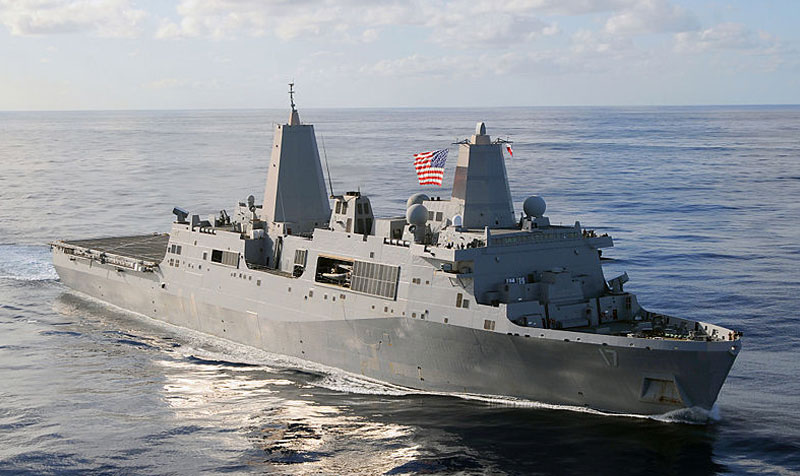 Amphibious Ships LPD-17 - US Navy - Non-Welded Piping