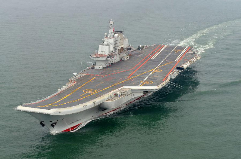 Liaoning Aircraft Carrier - Peoples Liberation Army Navy - China - PLA Navy