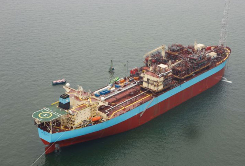 Maersk Ngujima - Non-Welded Piping